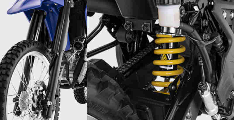 Review suspensi Yamaha WR155R