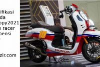 Modif New Honda Scoopy Suspensi USD Cafe Racer