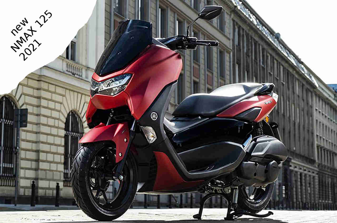 New Yamaha NMAX 125 2021 Connected, Specs And Feature